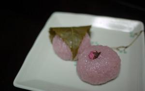 янонское желе-сакура моти
