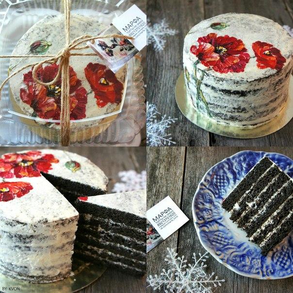 Торт-маки. Дизайн А. Черногривовой