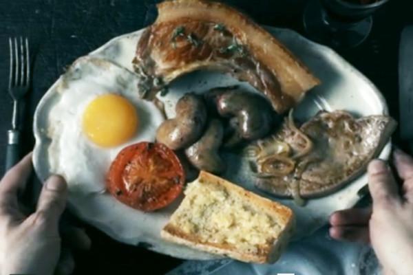Last-Supper-by-Gus-Filgate- предсмертное блюдо Наполеона Бонапартат
