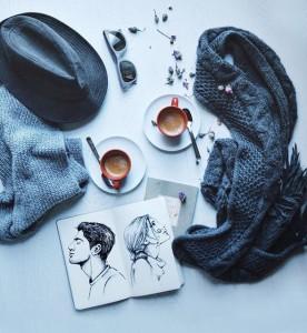 кофейные арт компиляции - Синтия Болоньези (Cinzia Bolognesi)-Двойной эспрессо