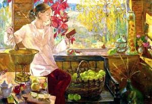 Инесса Сафронова Бабушкино варенье. 2005