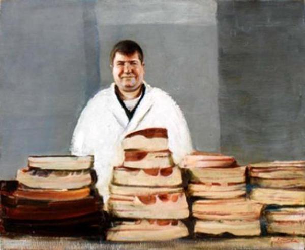 Константин Тотибадзе, Торговец салом