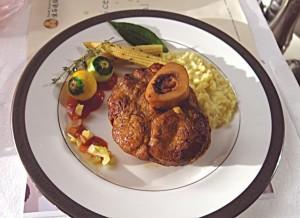 имитация блюд из сериала Ганнибал-бедро