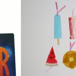 книжные закладки в стиле фуд-арт