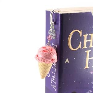 книжные закладки-рожок с мороженым