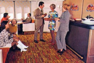 Postcard from the Continental Airlines Ponape Lounge