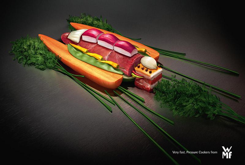 Реклама скороварки от WMF 800 х 540