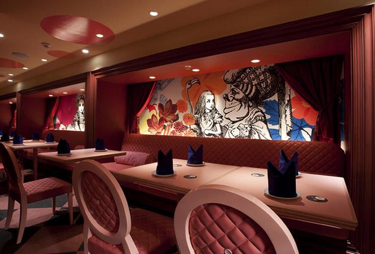 Ресторан Алиса в стране чудес 736 х 500