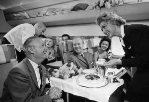 airlinefood_обед на борту Boeing 747_чай.