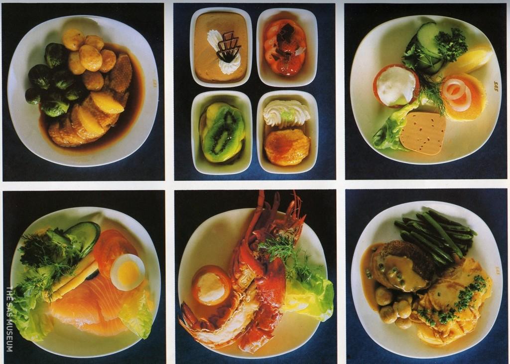 airlinefood_обед на борту Boeing 747_лобстеры в биз классе.