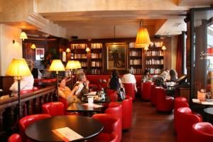интерьер ресторана Les Editeurs, Париж-топ