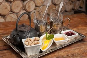 сервировка чая Ресторан Онегин 700 х 467