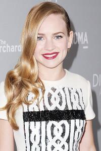 LOS ANGELES, CA - APRIL 15: Actress Britt Robertson Los Angeles, California. (Photo by Imeh Akpanudosen/Getty Images)