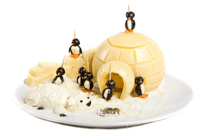 """Новогодний десерт """"Северный полюс"""""""