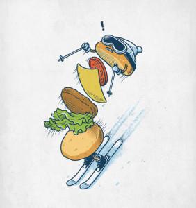 BenChen - гамбургер слалом
