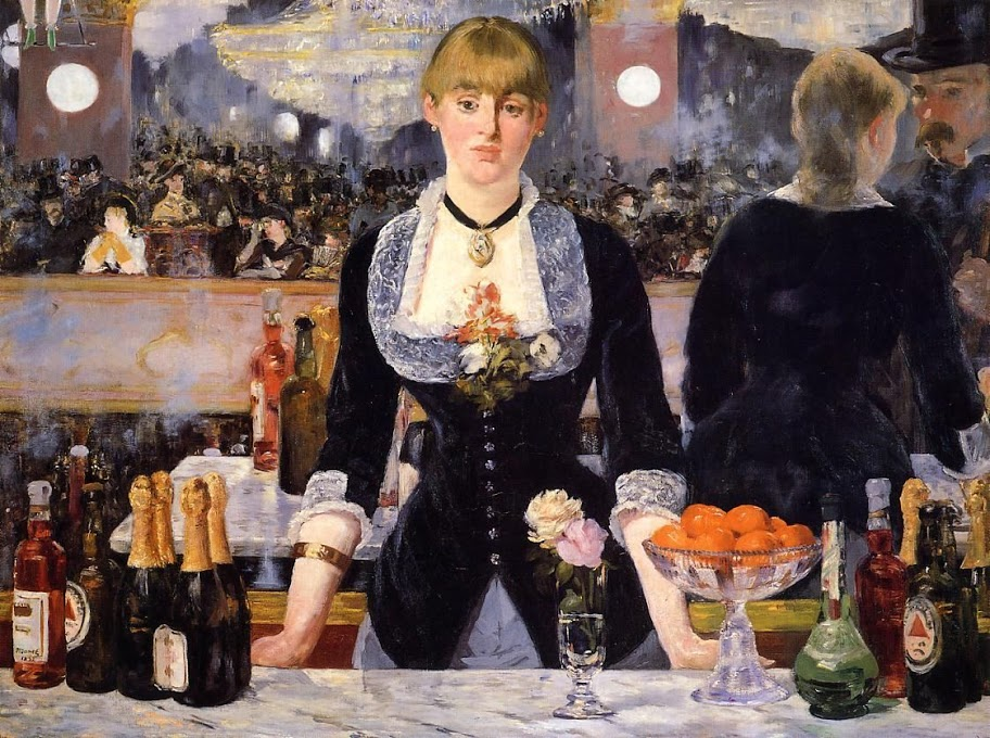 Бар в «Фоли-Бержер» (A Bar at the Folies-Bergere), 1882