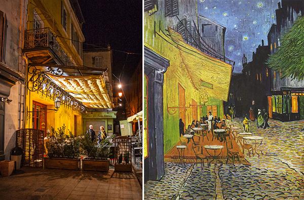 Van Gogh's Le Café Le Soir-2х1