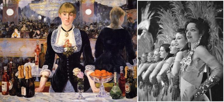 Эдуард Мане, Бар в Фоли-Бержер, 1882