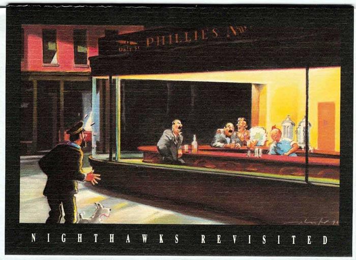 nighthawks-приключения тинтина
