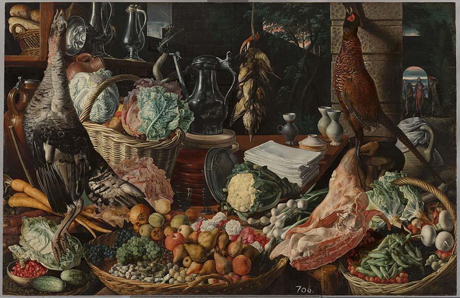 Кухонная сцена с Христом в Эммаусе 900 х 583