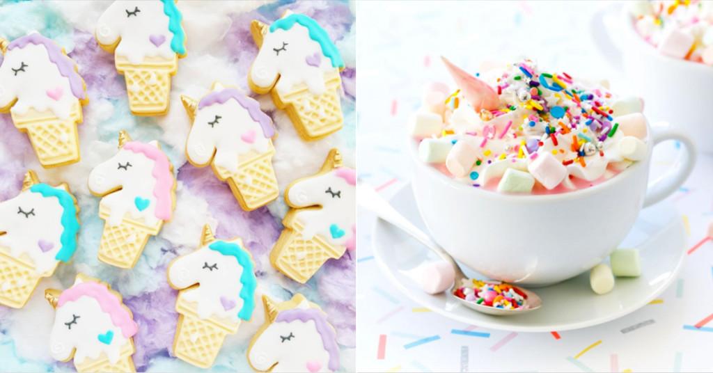 Unicorn-Food-Rainbow-Аделина Вог