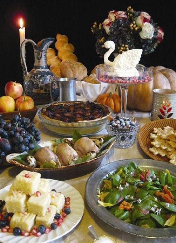 Рождественский пир эпохи Тюдоров