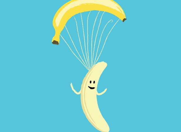 Бананошютист