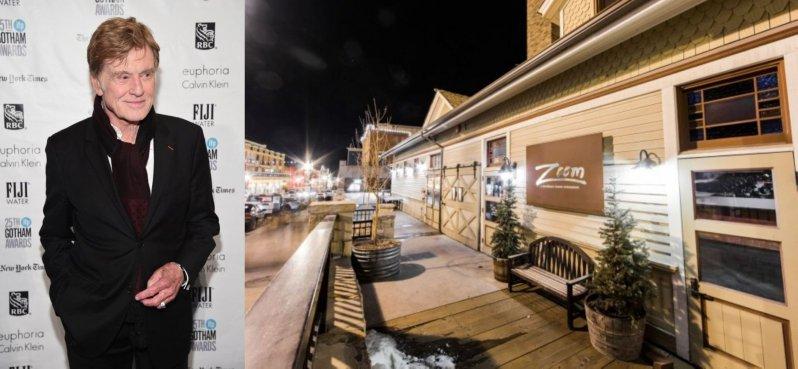 Роберт Редфорд-ресторан Zoom