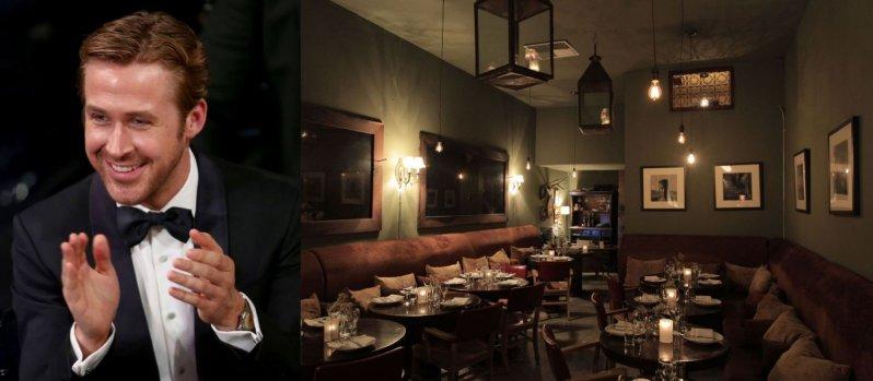 райан Гослинг-ресторан Таджин