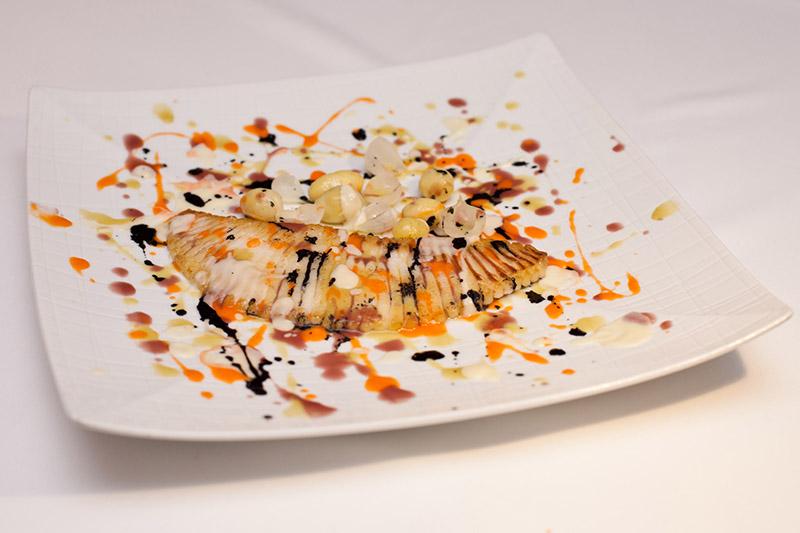 Рыбное блюдо в стиле Джексона Поллока 800 х 533