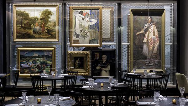 рестораны-художественные галереи