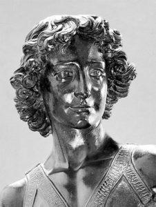 фрагмент скульптуры Давид Верроккьо
