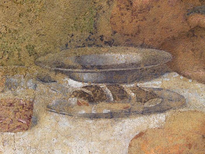 фрагмент фрески Тайная вечеря