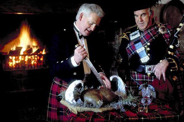 шотландское национальное блюдо хаггис