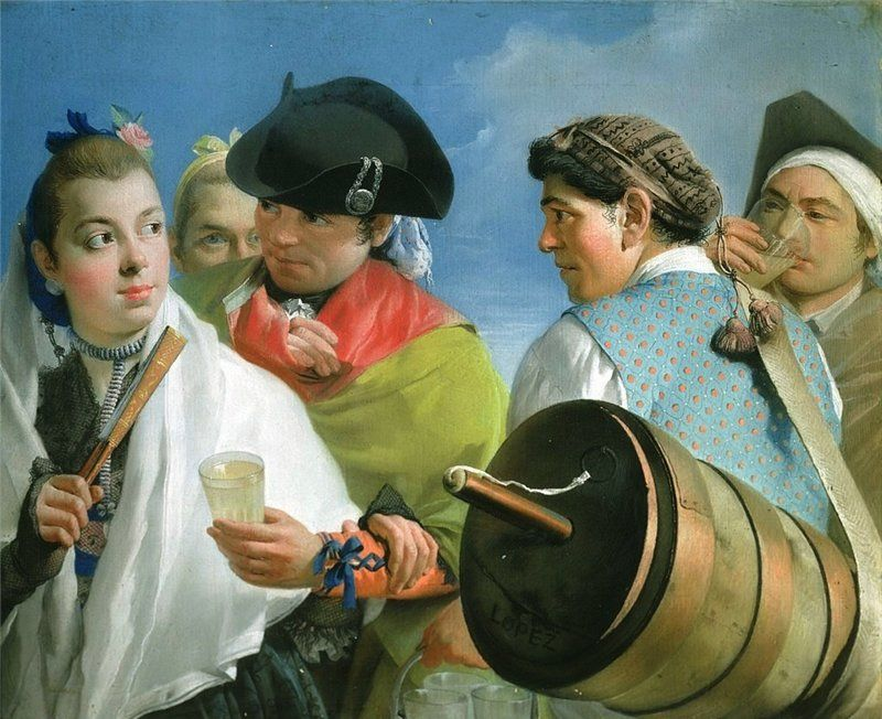 The Lemonade Seller 1770_Lorenzo Tiepolo