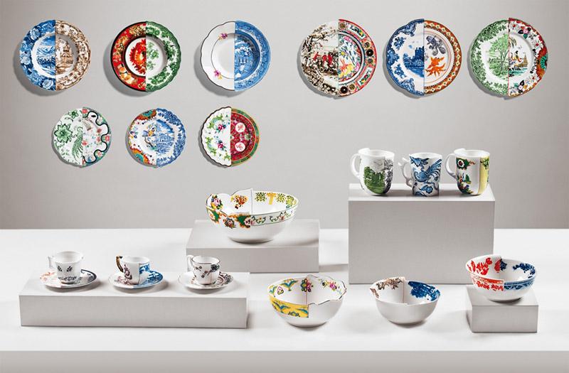 Коллекция тарелок Гибрид