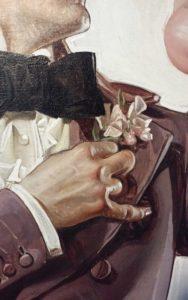 Leyendecker-easter-деталь оригинальной обложки2
