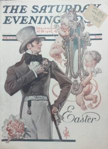 Leyendecker-easter-печатная пасхальная обложка Бо Бруммеля-small