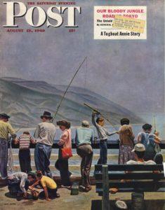 обложки для Saturday Evening Post_Джон Филипп Фальтер_1949