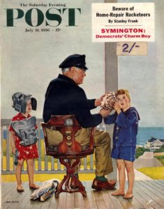 covers for the Saturday Evening Post_Джон Филипп Фальтер_1956