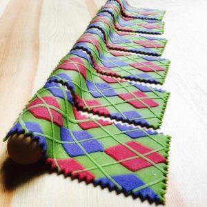 Цветные макаронные изделия Линды Николсjy