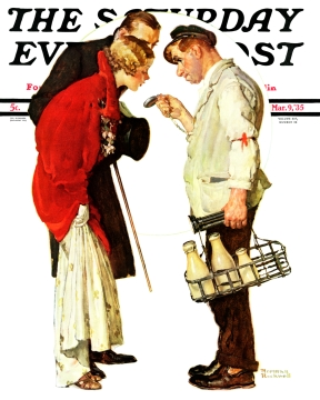 covers for the Saturday Evening Post_Норман Роквелл