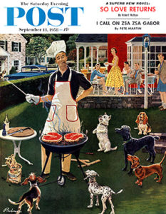 saturday-evening-post-cover-1958_Бен Кимберли Принс