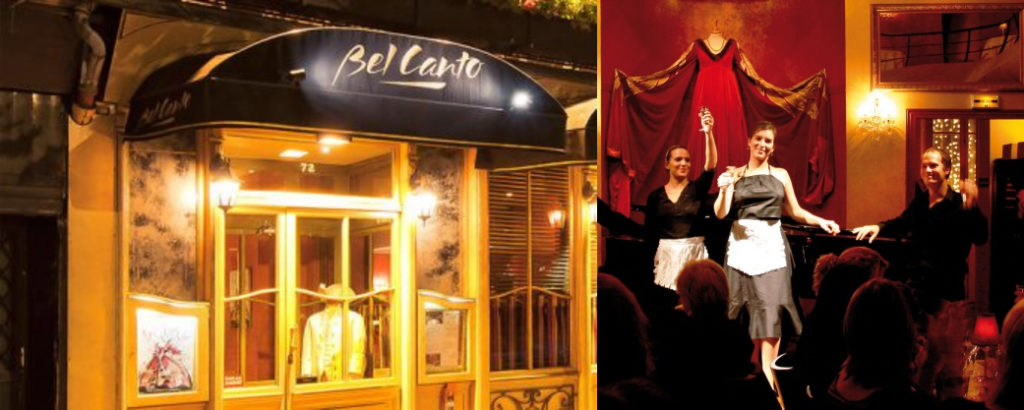 ресторан Bel Canto, Paris