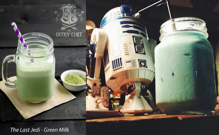 The Geeky Chef_Cookbook_green milk