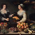 Продавец фруктов и овощей Луиза Моилон_Moillon Louise_1631