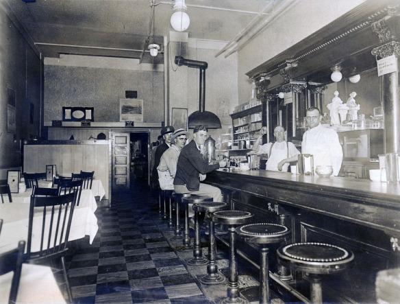 закусочная 1921г.