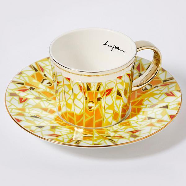 Луичо Зеркальный дизайн - чашка и блюдце - luycho-mirror-cup-животные