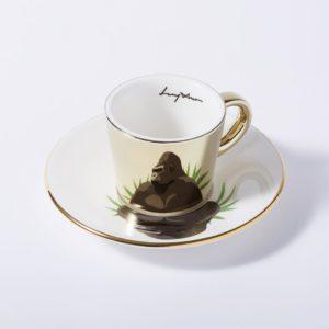 luycho-mirror-cup-животные-Lowland Gorilla_espresso