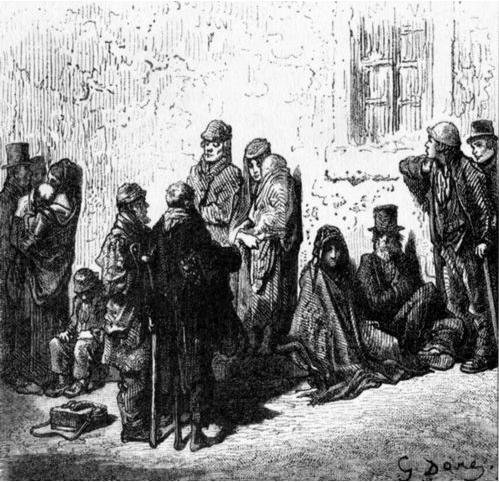 английские бедняки 16 век